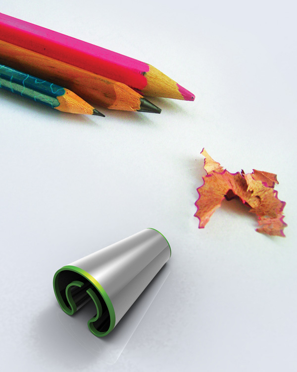 Twist Pencil Sharpner by Abhishek Anupam