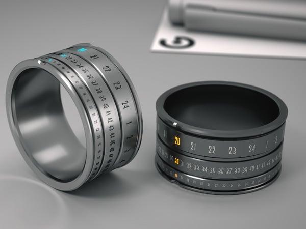 Ring Clock by Szikszai Gusztav