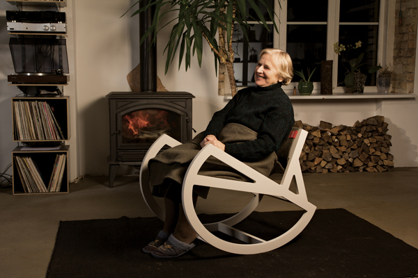 Grikis - Rocking Chair by Ignas Survila