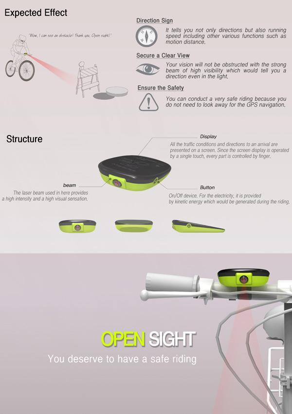 Laser GPS In Broad Daylight