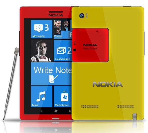 Nokia Note - Nokia Concept Phone by Mohammad Mahdi Azimi