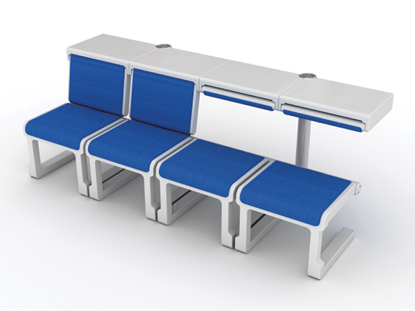 Comfort Airport – Airport Tables and Chairs Design by Kwon Jin-Seok