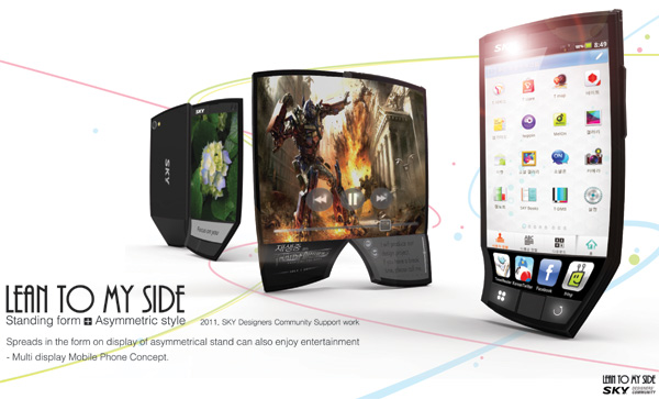 Lean to my side – Concept Smartphone Design by Seung Hyun Lee