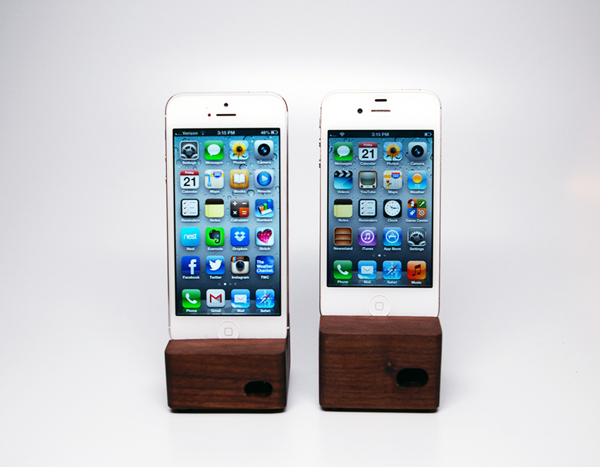 Ecoustik iPhone & iPad Docks by Portsmith Co.