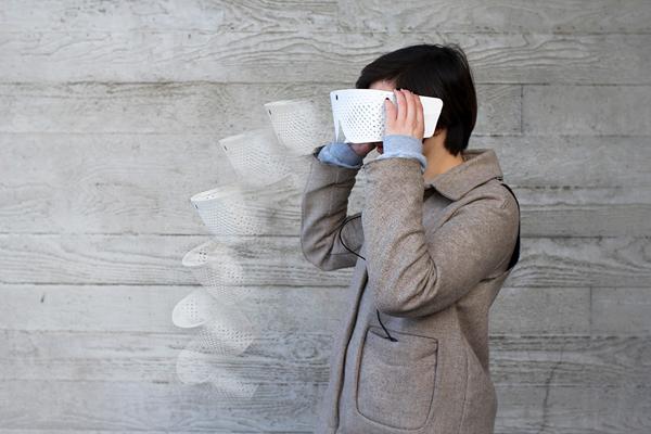 Eidos - Sensory Augmentation Device by Tim Bouckley, Millie Clive-Smith, Mi Eun Kim, & Yuta Sugawara