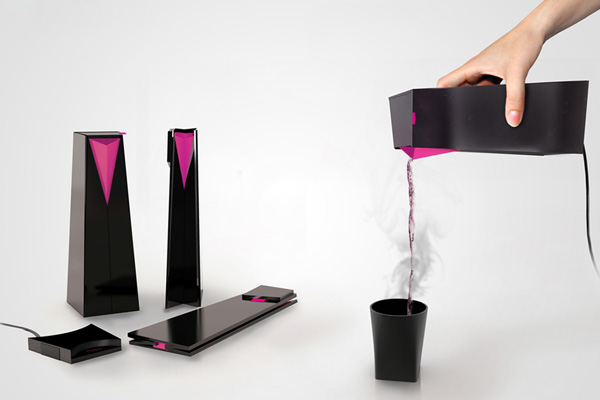 Novel Folding Kettle by Stanislav Sabo