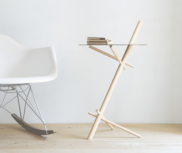 Minimato - Side Table by Matthias Ferwagner