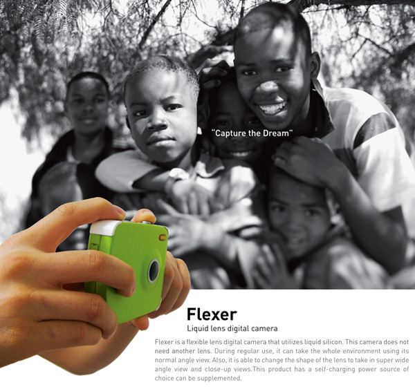 Flexer Liquid Lens Digital Camera by MinSoon Kim