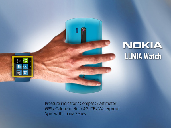 Nokia LUMIA Watch by Mohammad Mahdi Azimi