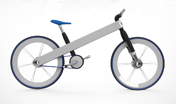 Toyota Hybrid Electric Bike by Francisco Ulla