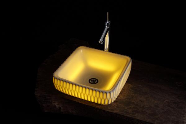 Suirin and Renca - Modern Sinks by Masahiro Minami