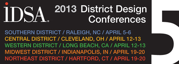 IDSA's 2013 District Design Conferences