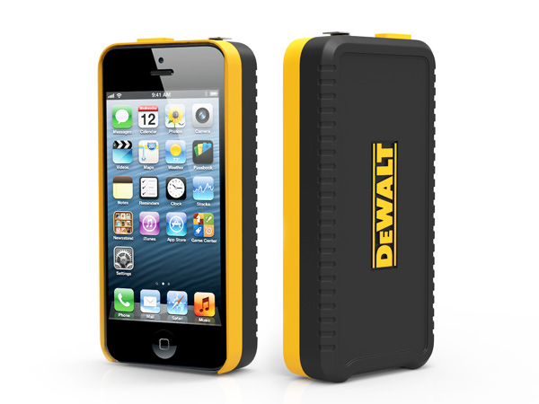 DeWalt iPhone 5 Case With Tape Measure Concept by Psychic Factory