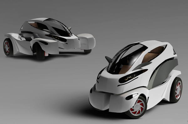 MONO - Transformable Electric Vehicle by Heesang Ahn