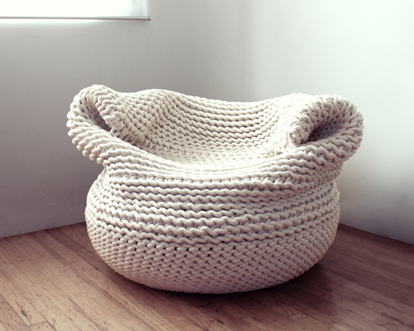 Bdoja - Woven Seating by Amaya Guiterrez