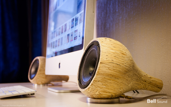 Bell Sound - Speakers by Matthew Higgins