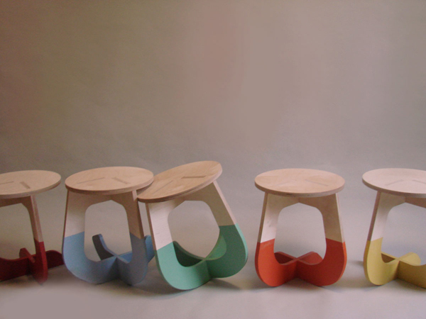 This Stool Rocks by James McBennett