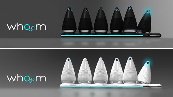 Whooom – Portable Home Speaker by Andras Fako & Marton Budai