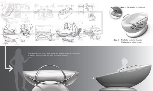 Water Saving Body Wash Yanko Design