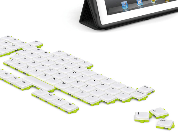 Puzzle Keyboard by Wan Fu Chun