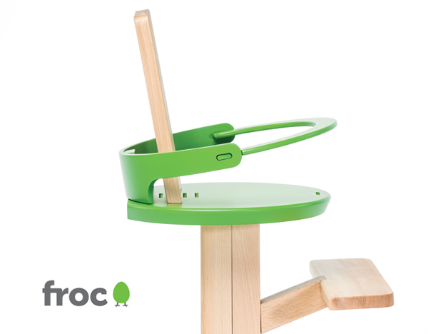 Froc High Chair by Rimarket & Gigodesign