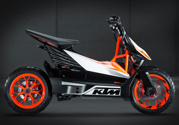 E-SPEED Electric Scooter Concept by KTM – KISKA