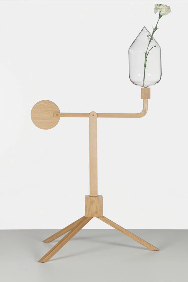 Balance - Flower Vase by Marie Dessuant