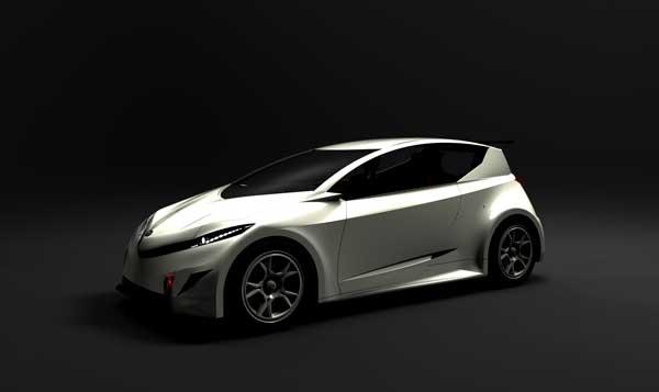 Honda R-EV by Jex Chau