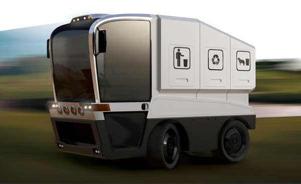 Multifunctional Waste Collection Vehicle by Michał Markiewicz