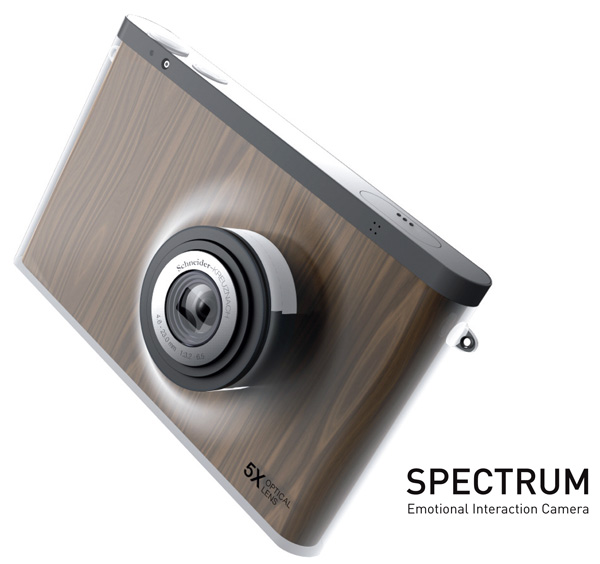 Spectrum Camera Concept by Byeong Soo Kim