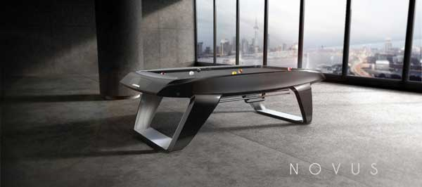 Novus - Modern Pool Table by Cyrille Durand