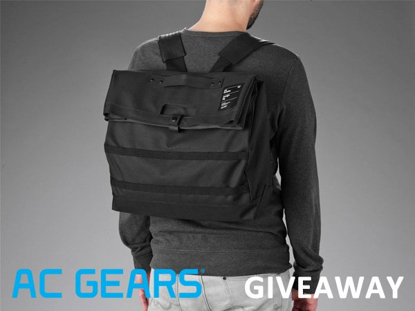 Friday Giveaway: Unit Portables Unit 15 Backpack from AC Gears