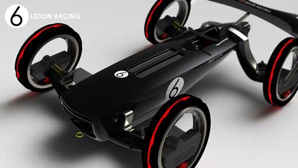 past present future car yanko design Future Roadster Consept share