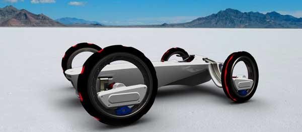 Poursuivrêve Concept Car by Yutong Wu