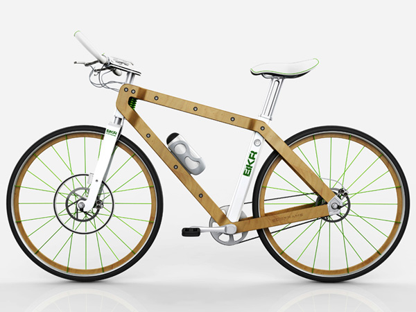 BKR Concept Bicycle by Pietro Russomanno