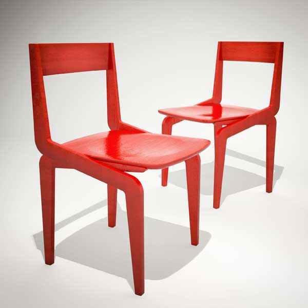 First Chair by Jonathan Dorthe for Atelier-D