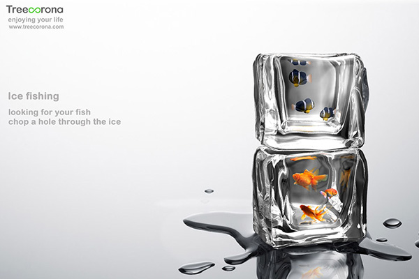 Ice Cube Fish Tank by Arthur Xin (SE Xin)