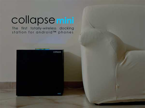CollapseMini - Wireless Phone Charger by Matteo Massimi
