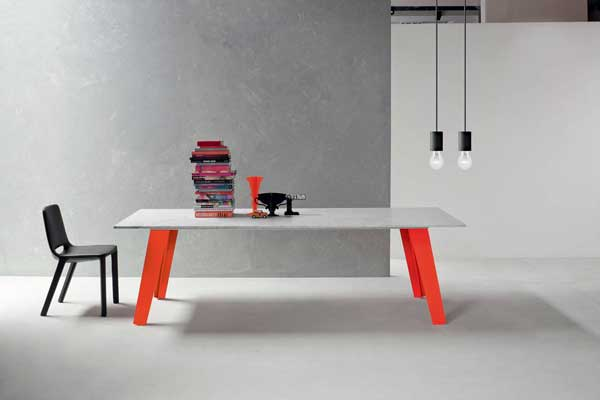 Welded Table by Alain Gilles for Bonaldo