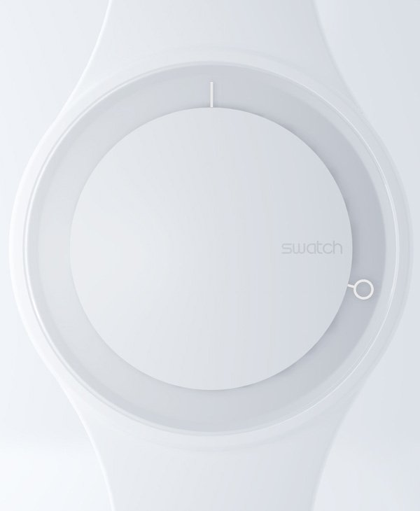 Hoop Concept Watch by Simone Savini for NOTdesignstudio