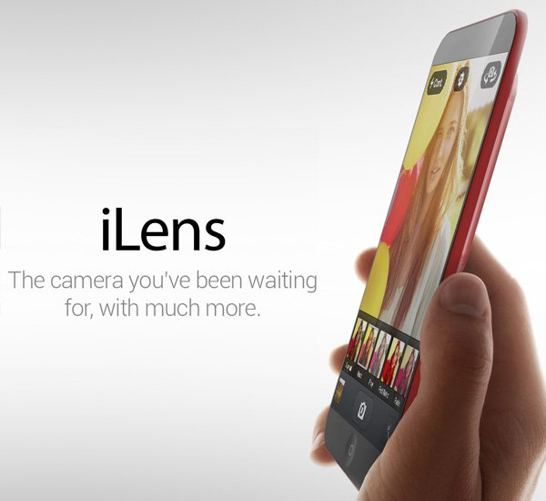 Apple iLens Concept by Rishi Soman
