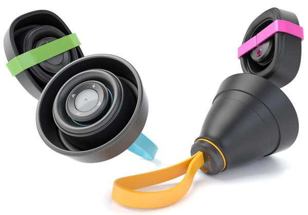 RingIng Speaker – Bluetooth Speaker by Wooseok Suh