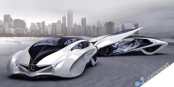 Mercedes Benz Dolphin by Liu Shun, Gao Zhiqiang & Chen Zhilei