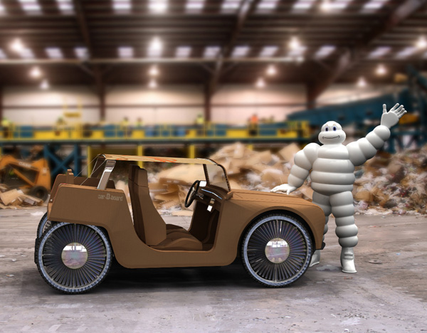 carDboard - concept vehicle by Thierry Dumaine