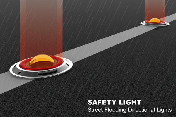 Safety Light - Street Flooding Directional Lights by Lin Chyun-Chau, Hsu Hsiang-Han, Luo Yih-Wenn & Wu Yu-Ning