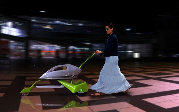 Strollon - Concept Stroller by Amir Labidi