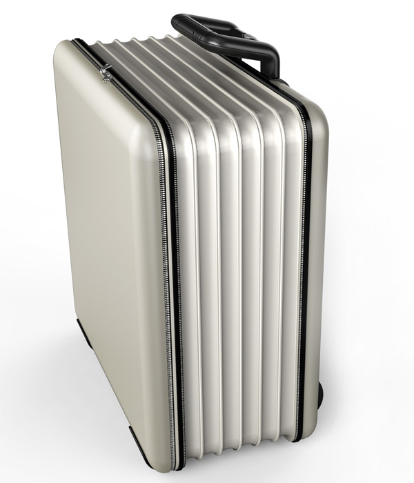 Folding Suitcase by Wang Pan & Libiao Tong