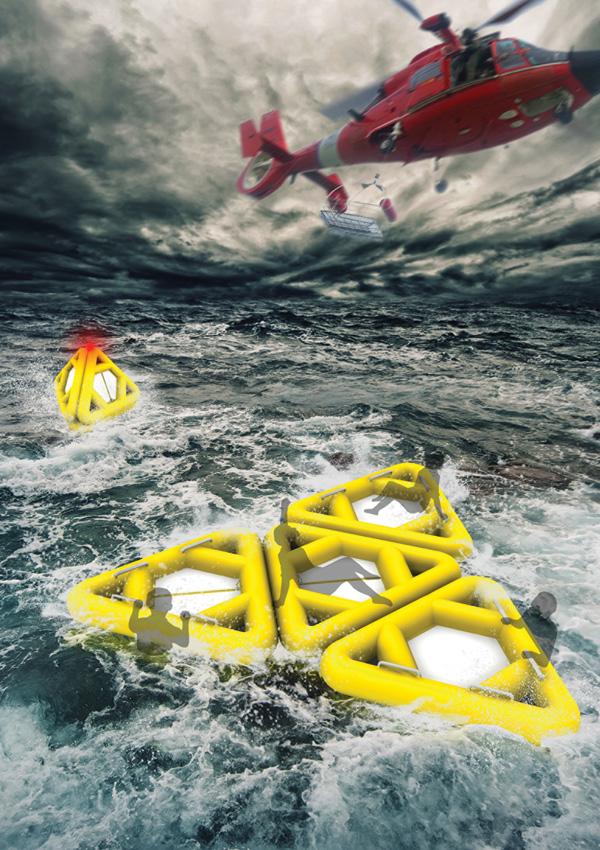 Life Triangle – Water Rescue System by Prof. Shi Yuanwu, Hu Sumei & Wu Chongxiang