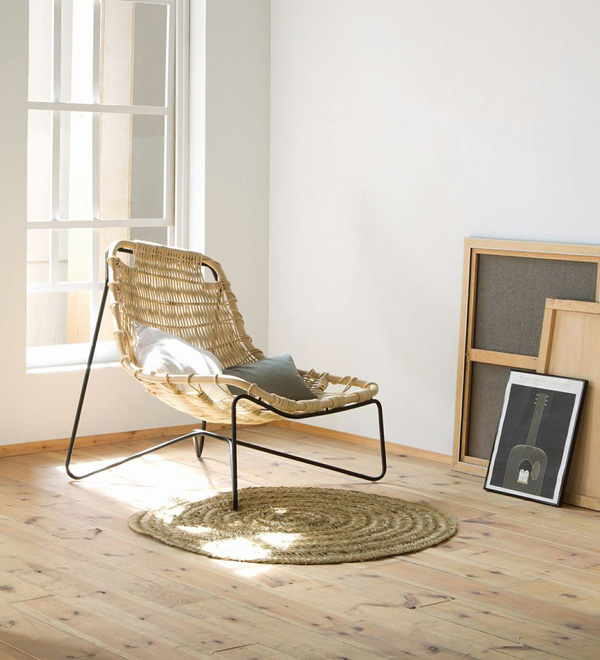 TINA - Rattan Chair by Benedetta Tagliabue for Expormim