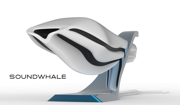 Fishead and Soundwhale Speakers by Patrick Frei